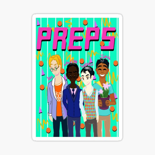 Preps - Grunge Sticker