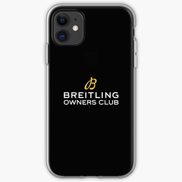 BOC Breitling Owners Club  iPhone Soft Case