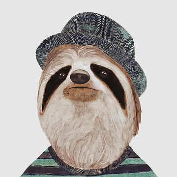 Groovy Sloth by AnimalCrew