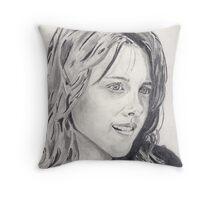 Kristen Stewart Throw Pillow