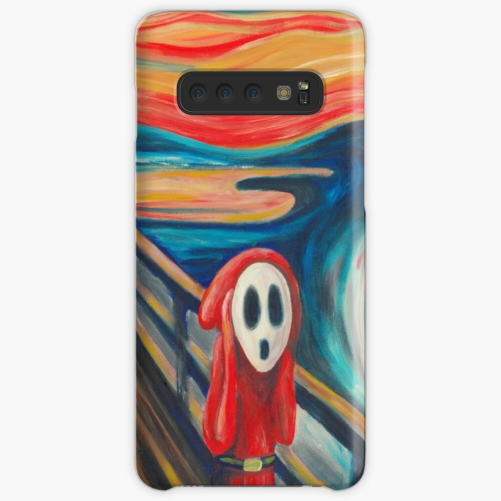 Shy Guy Scream Funda y vinilo para Samsung Galaxy