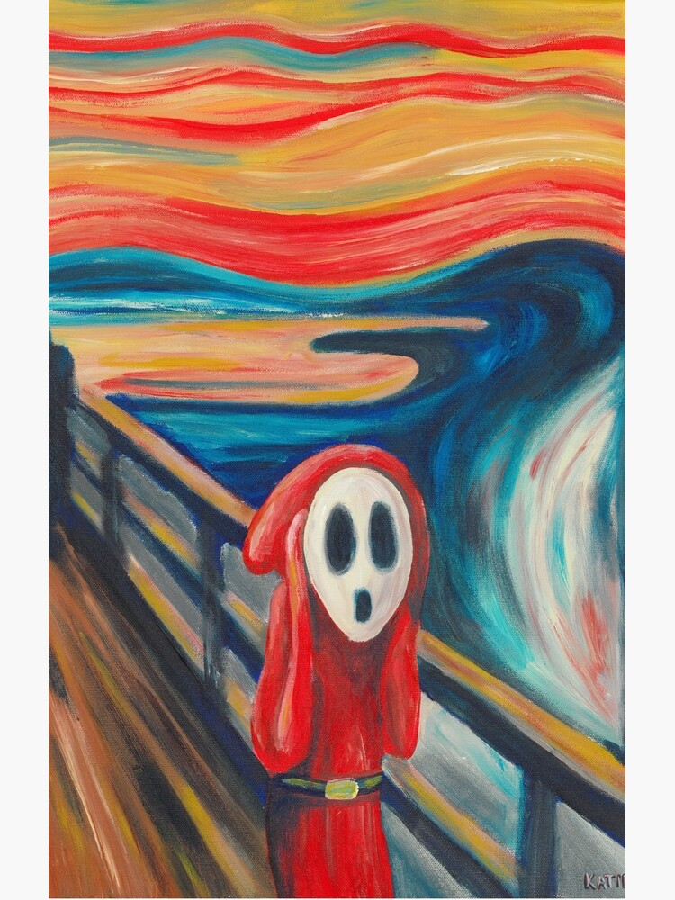 Shy Guy Scream de KatieClarkArt
