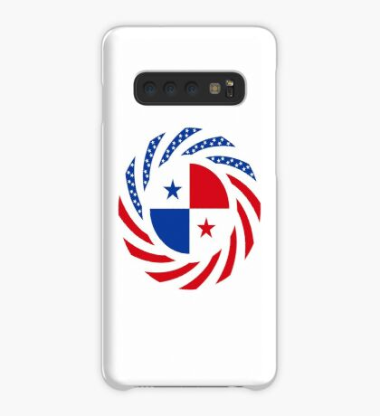 Panamanian American Multinational Patriot Flag Series Case/Skin for Samsung Galaxy