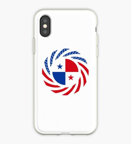 Panamanian American Multinational Patriot Flag Series iPhone Case