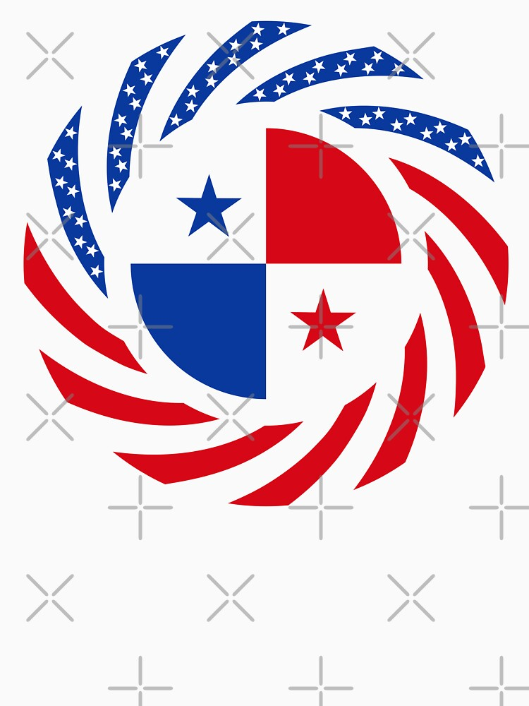 Panamanian American Multinational Patriot Flag Series by carbonfibreme
