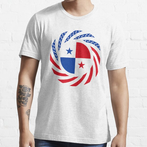 Panamanian American Multinational Patriot Flag Series Essential T-Shirt