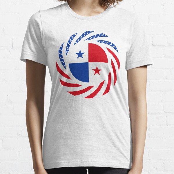 Panamanian American Multinational Patriot Flag Series Essential T-Shirt