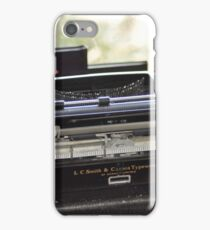 old school social networking iPhone Case/Skin