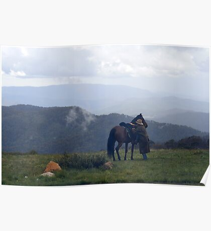 Mt Stirling - Victoria Poster