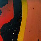 Terra - Abstract Acrylic Painting by Valeria Granda