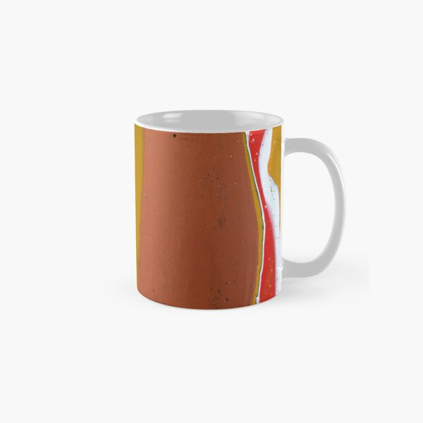 Terra - Abstract Acrylic Painting Classic Mug