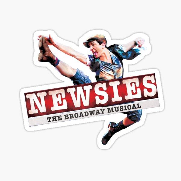 Newsies Tour Logo Sticker