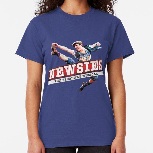 Newsies Tour Logo Classic T-Shirt