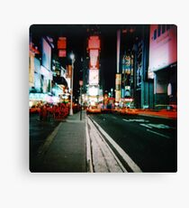Times Square 2 Canvas Print