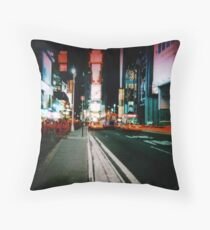 Times Square 2 Throw Pillow