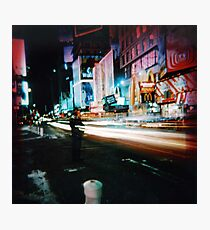 Times Square (3) Photographic Print
