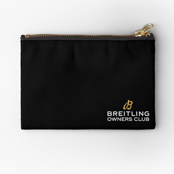 BOC Breitling Owners Club  Zipper Pouch