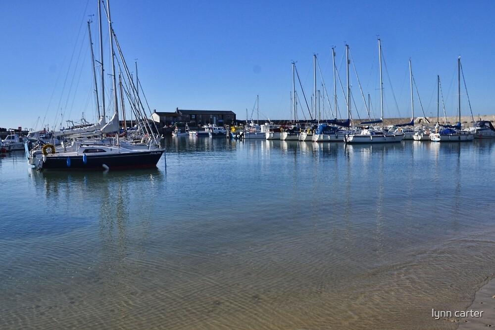 Lyme Harbour , Dorset. UK by lynn carter