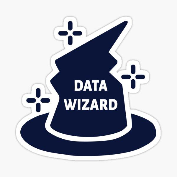 data wizard Sticker