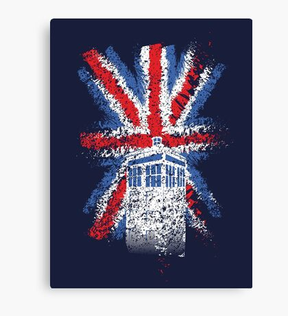 British Time Travellers Canvas Print