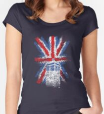 British Time Travellers Women's Fitted Scoop T-Shirt