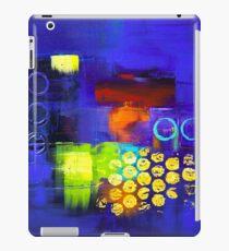 Trio - Blue iPad Case/Skin