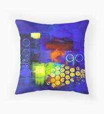 Trio - Blue Floor Pillow