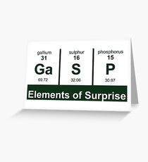 Elements of Surprise - Periodic Table Greeting Card