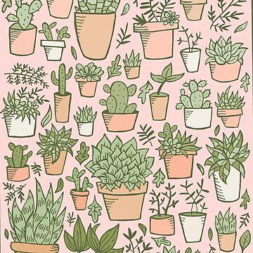 Potted Plants Illustration by doodlebymeg