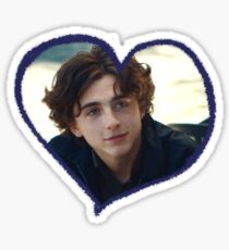 timothée chalamet is love Sticker