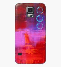 Trio - Red Case/Skin for Samsung Galaxy