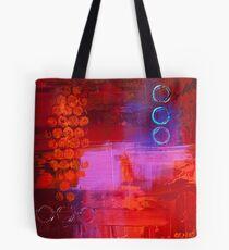 Trio - Red Tote Bag