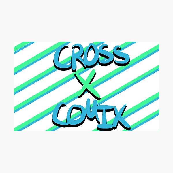 Cross X Logo (February, 2019) Photographic Print