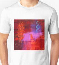 Trio - Red Unisex T-Shirt