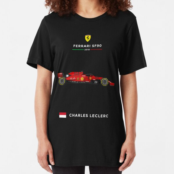 Ferrari SF90 - 2019 - 16 Leclerc Slim Fit T-Shirt