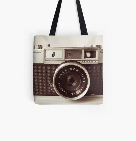 Camera Retro  All Over Print Tote Bag