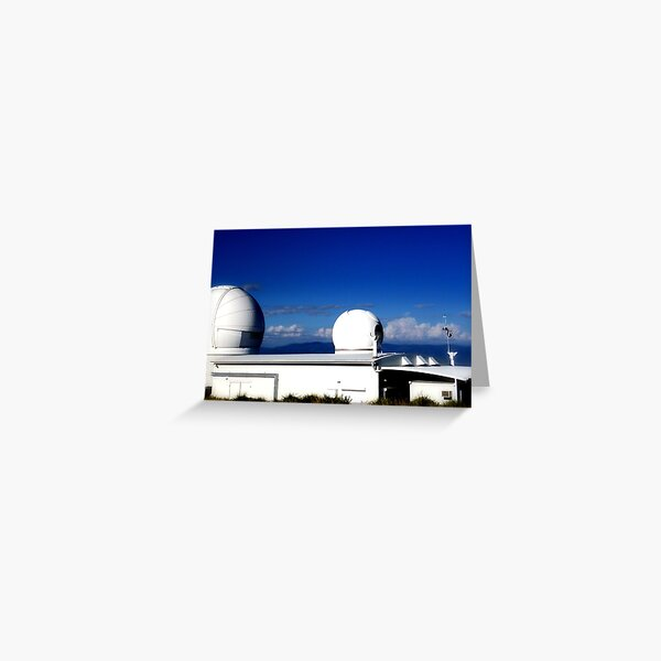 Observations Of Space Greeting Card