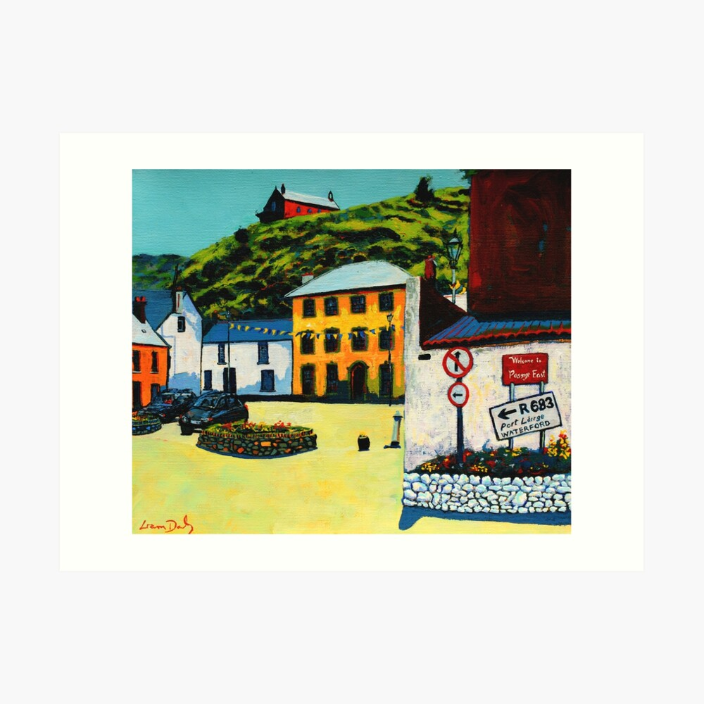 Passage East (County Waterford, Ireland) Art Print