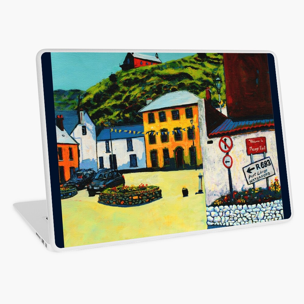 Passage East (County Waterford, Ireland) Laptop Skin