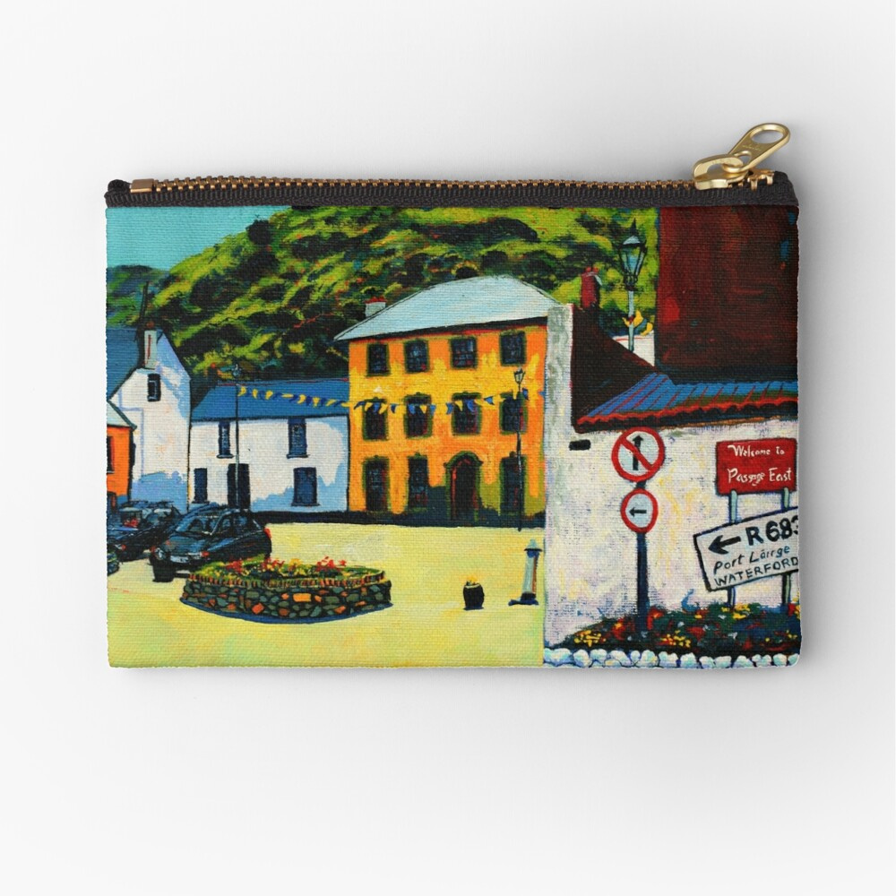 Passage East (County Waterford, Ireland) Zipper Pouch