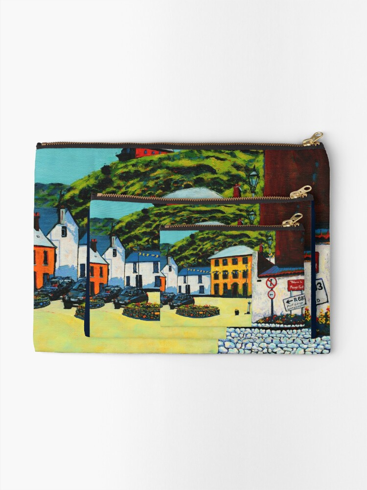 Alternate view of Passage East (County Waterford, Ireland) Zipper Pouch
