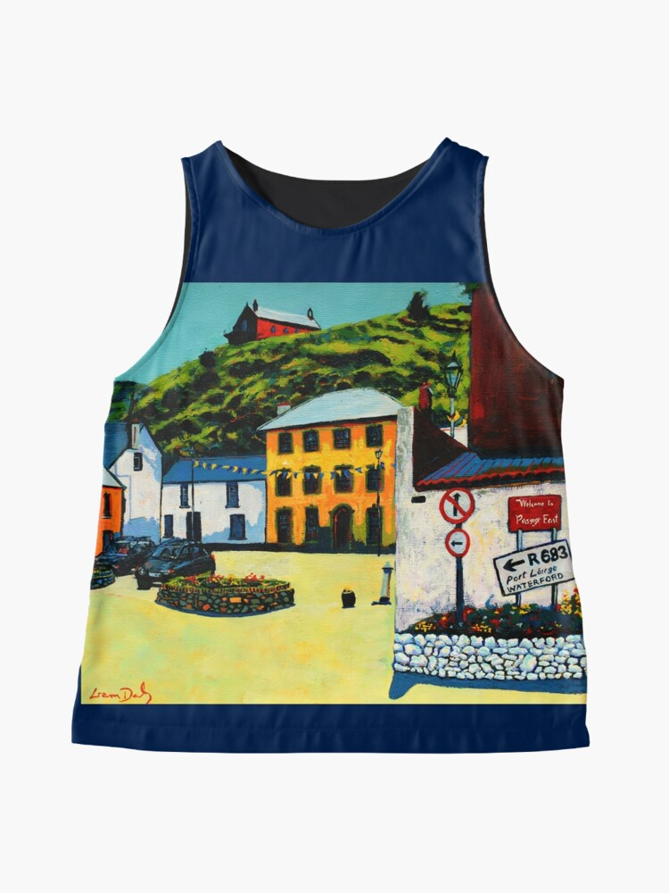 Alternate view of Passage East (County Waterford, Ireland) Sleeveless Top