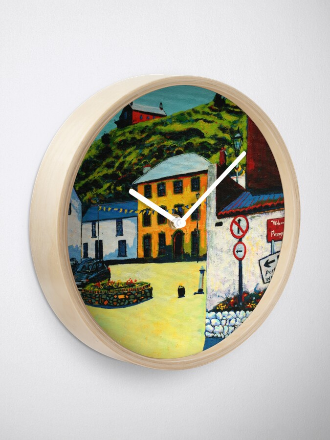 Alternate view of Passage East (County Waterford, Ireland) Clock