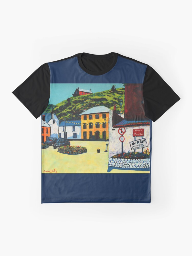 Alternate view of Passage East (County Waterford, Ireland) Graphic T-Shirt