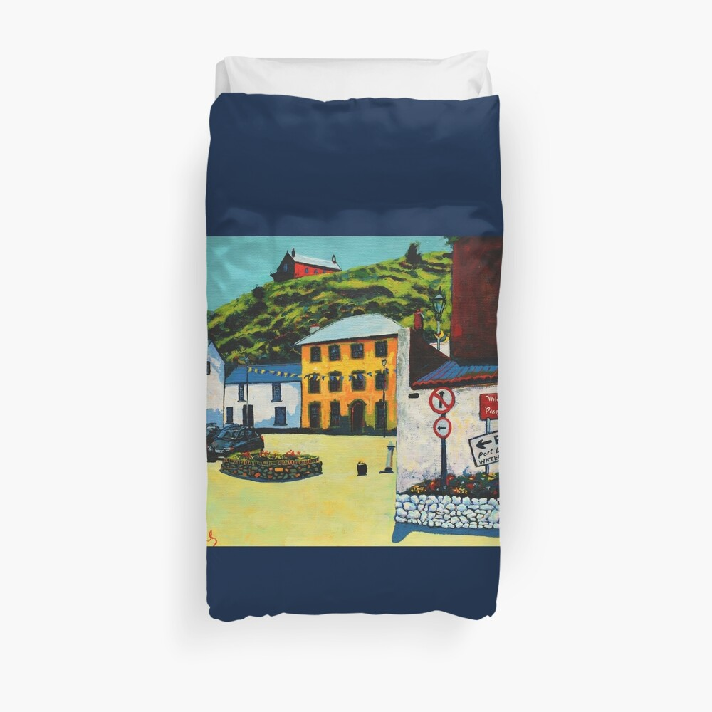 Passage East (County Waterford, Ireland) Duvet Cover