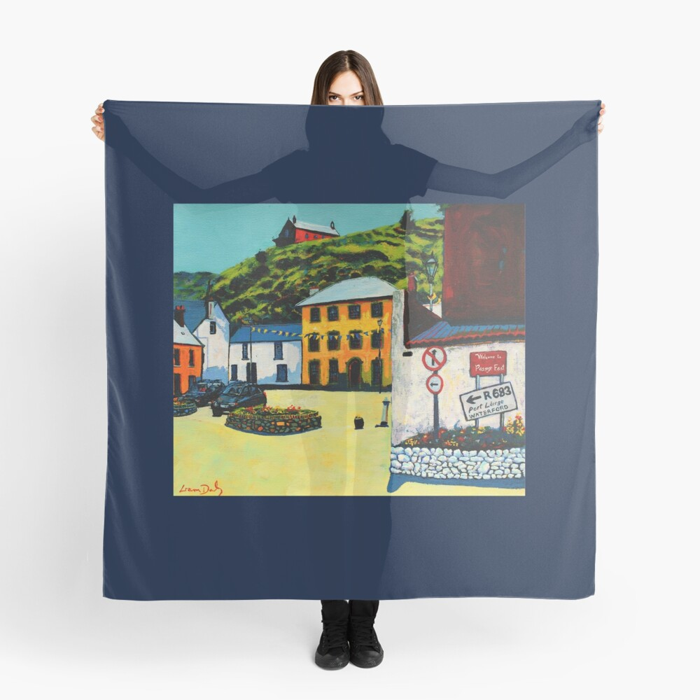 Passage East (County Waterford, Ireland) Scarf