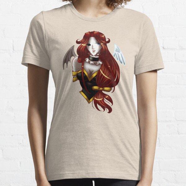 Kuroitenshi Waist up Essential T-Shirt