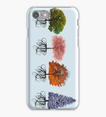 Colourful Tree Design 2 iPhone Case/Skin