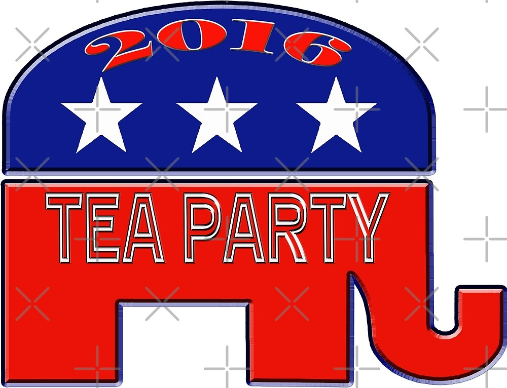 Tea Party Republican by Buckwhite