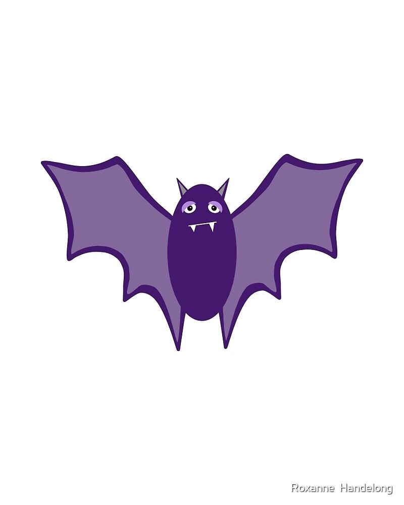 Purple Bat by TheyComeAlong